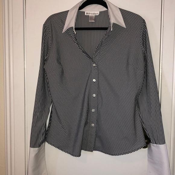 262b852f Dress Barn Tops   Dressbarn Med Button Down Ladies Shirt   Poshmark